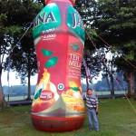 balon botol teh javana