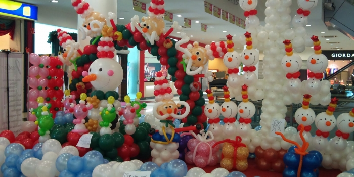 Dekorasi Balon Untuk Natal Dan Tahun Baru Di Jakarta