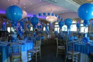 dekorasi centerpiece balon