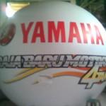 balon bulat , balon promosi yamaha