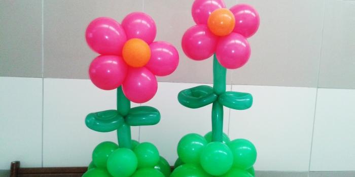 Dekorasi balon bunga Murah Jakarta
