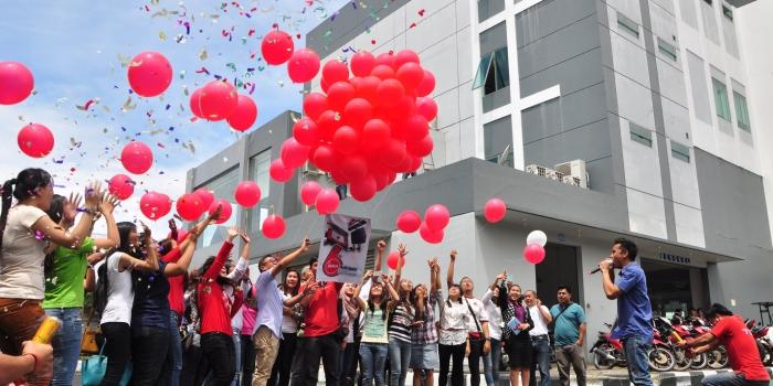 Jual Balon Pelepasan / isi Balon Gas Helium dan Hidrogen Harga Murah