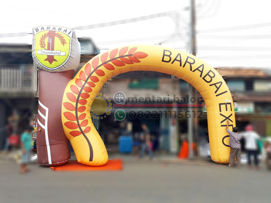 balon gate custom barabai expo
