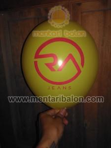 Balon printing RA jeans