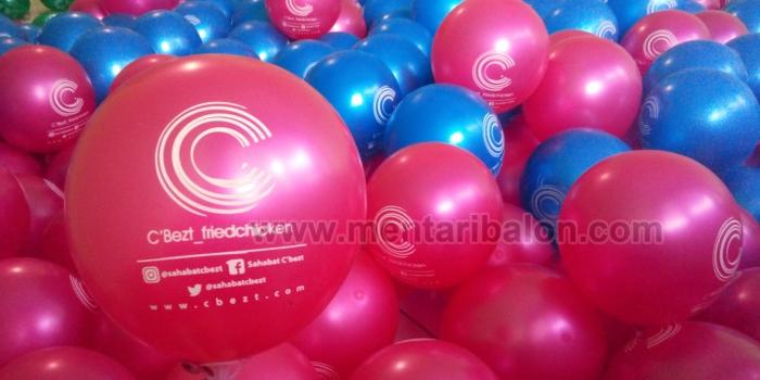 Jual Balon Sablon atau Balon Printing