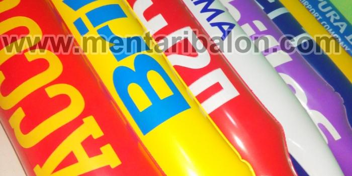 Jual dan Produksi Balon Tepuk / Balon Suporter Murah | MENTARI BALON