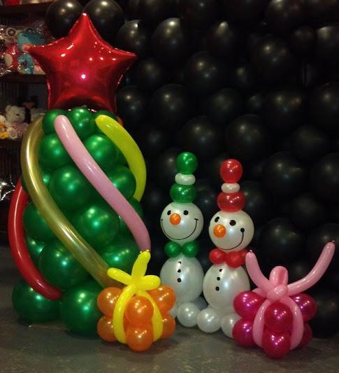 dekorasi balon natal dan tahun baru murah di jakarta1