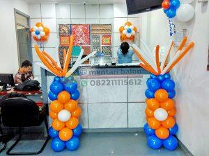 dekorasi standing balon bank bri