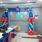dekorasi standing balon tiki