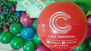 proses sablon balon