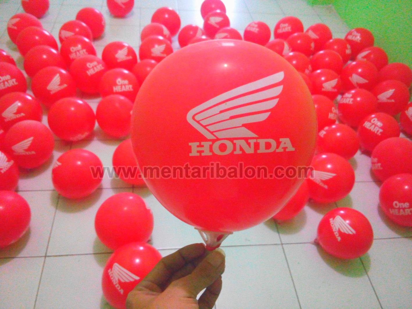 sablon balon honda