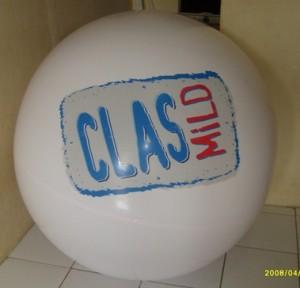 balon pantai promosi