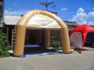 jual balon tenda iklan