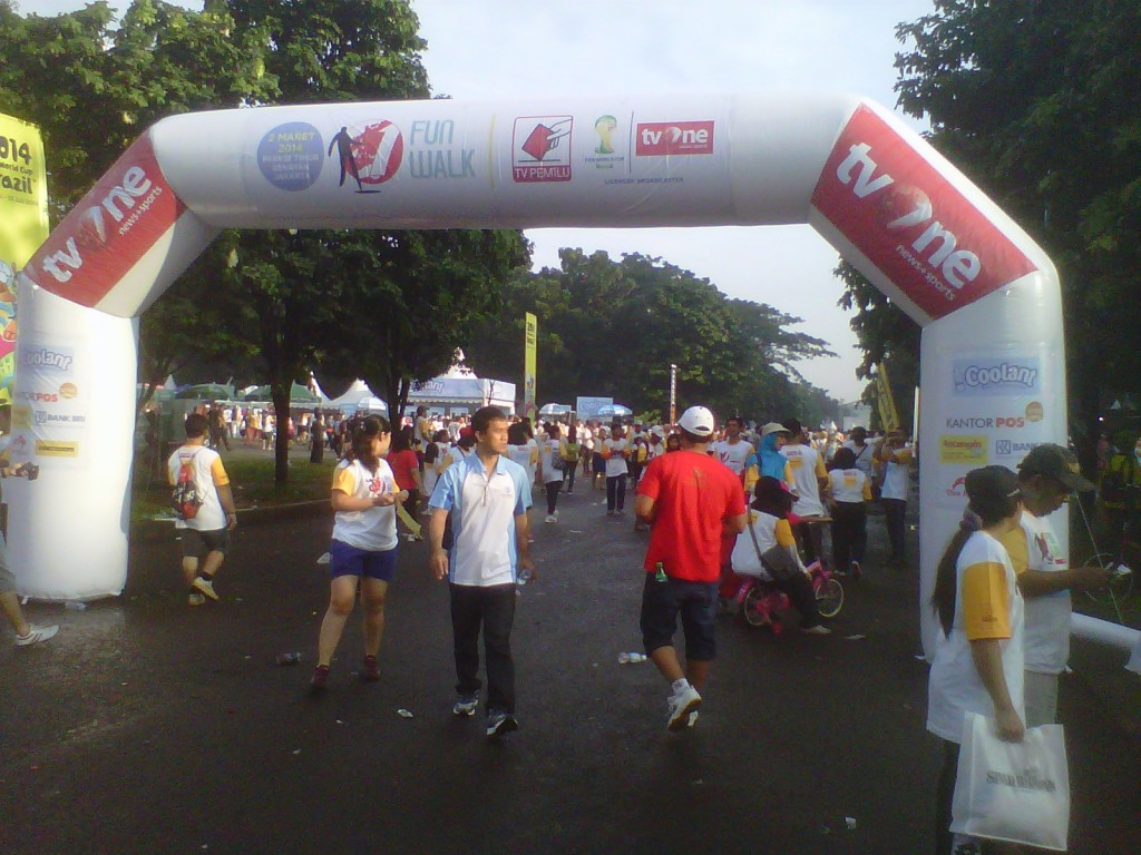 Gate start finish Murah fun walk