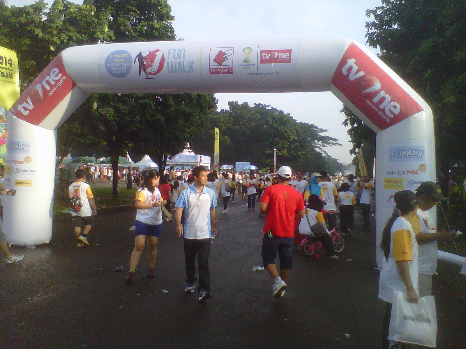 Gate start finish Murah