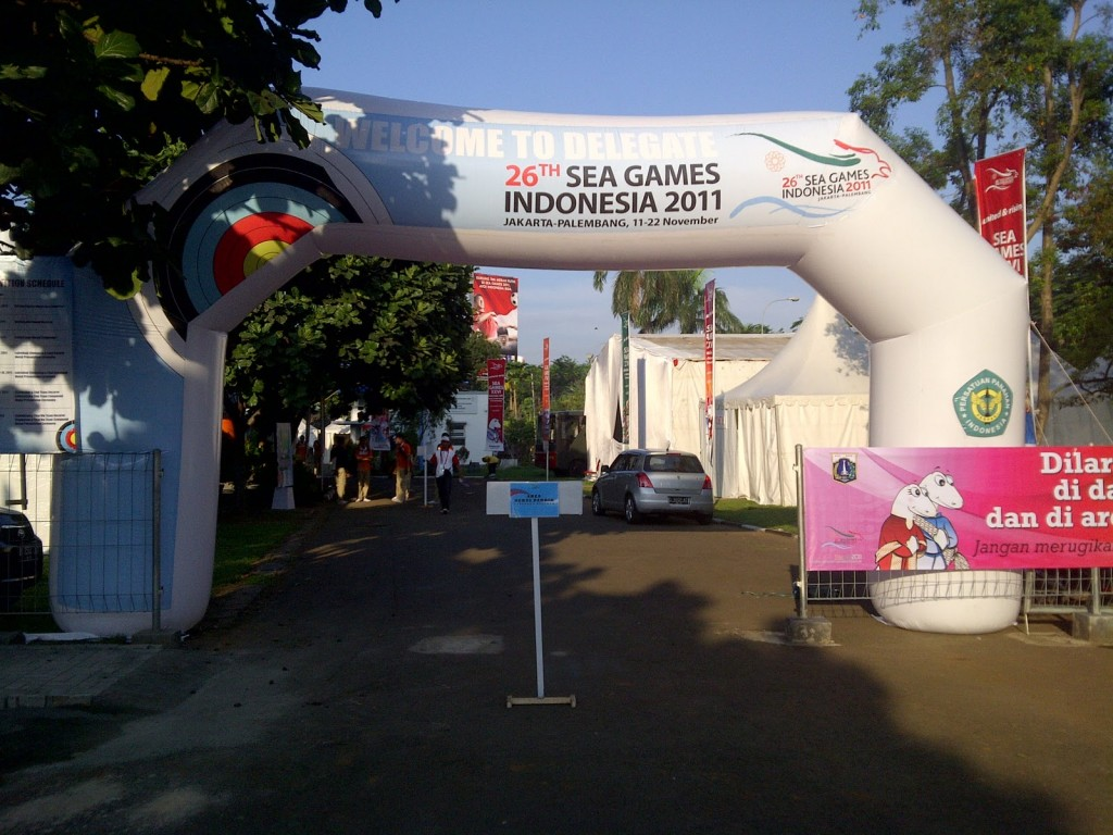 jual balon gate sea games