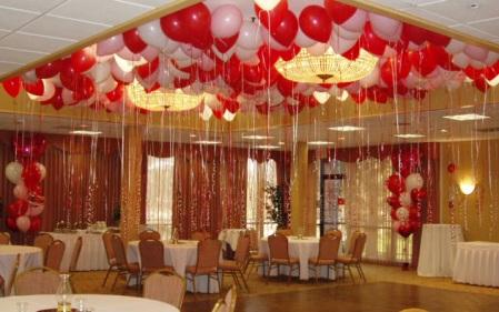 Dekorasi Balon Centerpiece