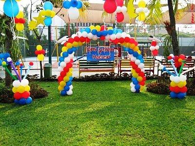 Dekorasi balon gate , dekorasi balon |mentaribalon| jakarta