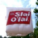 Balon Promosi berbentuk kubus