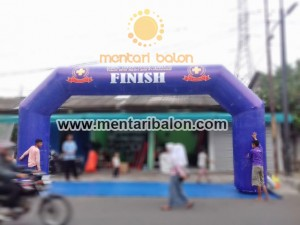 balon gate start finish bandung