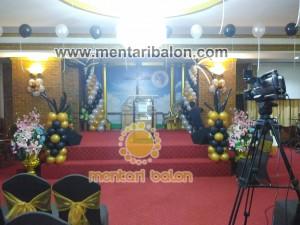 balon dekorasi gereja