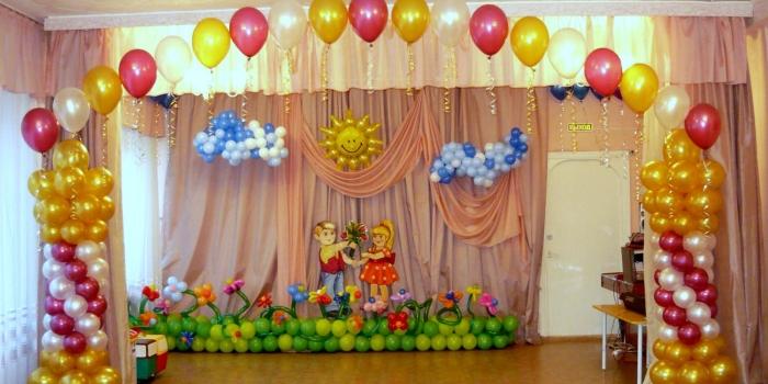 Dekorasi Balon Dekorasi Ulang Tahun – mentari balon
