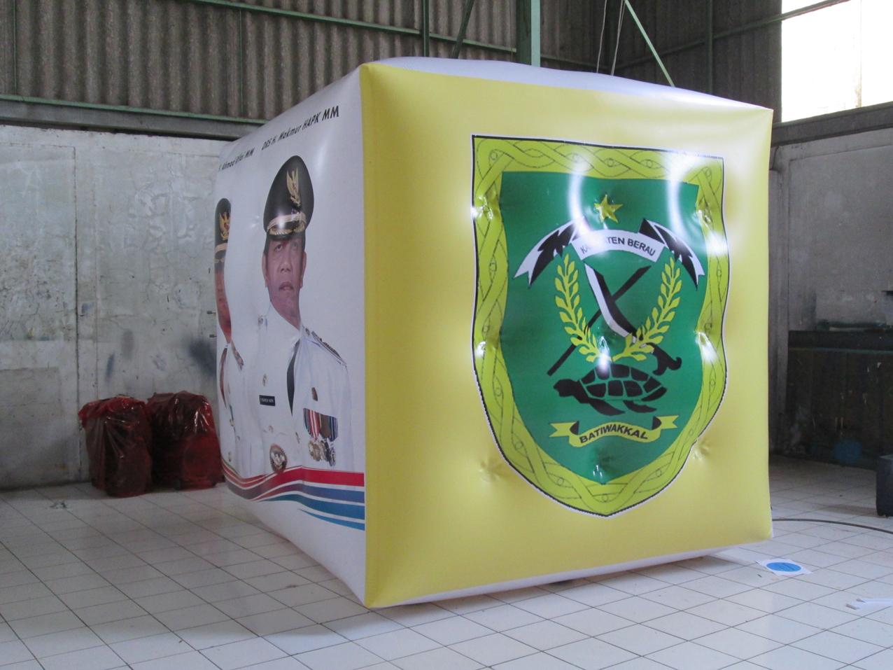 balon atribut kampanye