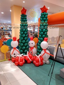 balon dekorasi christmas