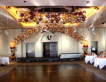 balon dekorasi tahun baru