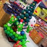 balon dekorasi untuk natal