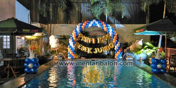 Balon Gate Dekorasi murah |mentari balon| jakarta bekasi tangerang