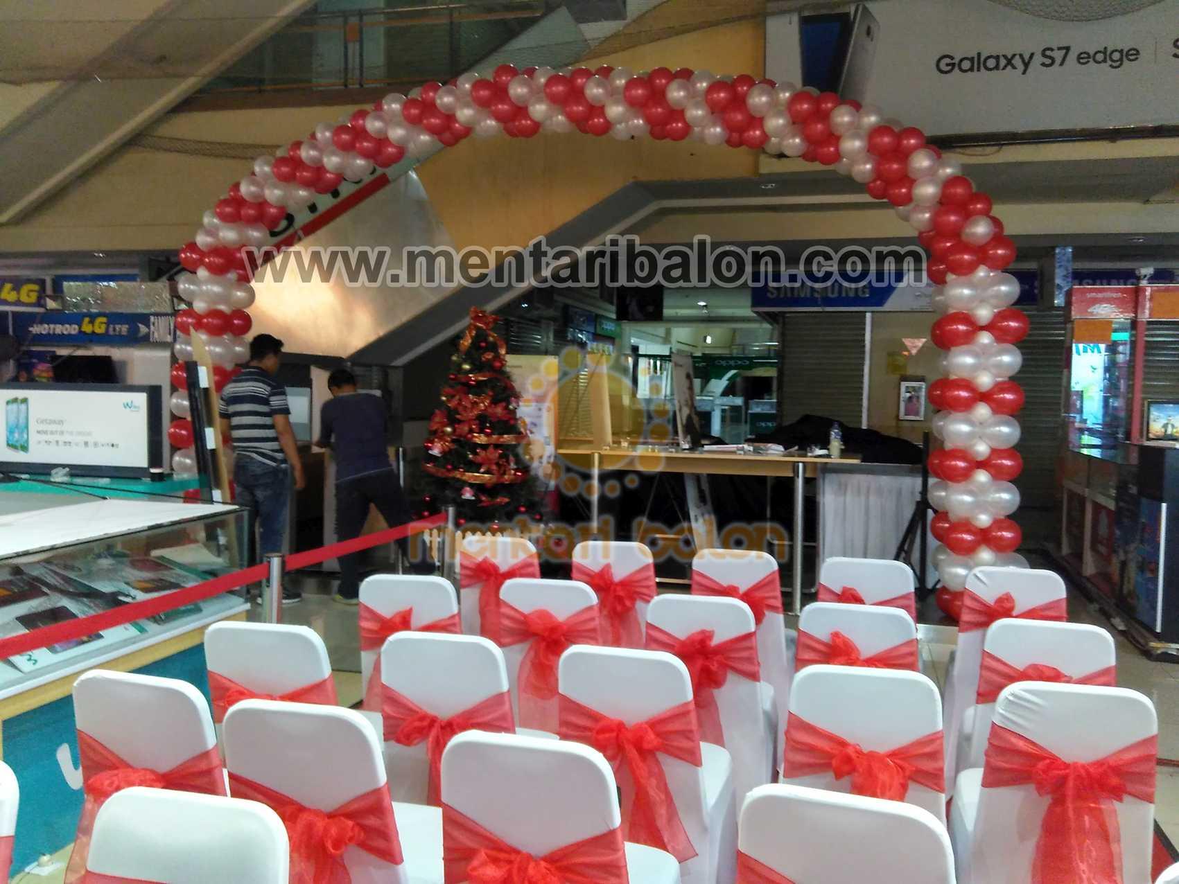 Balon gate dekorasi balon dekor balon dekorasi for Dekor ulang tahun
