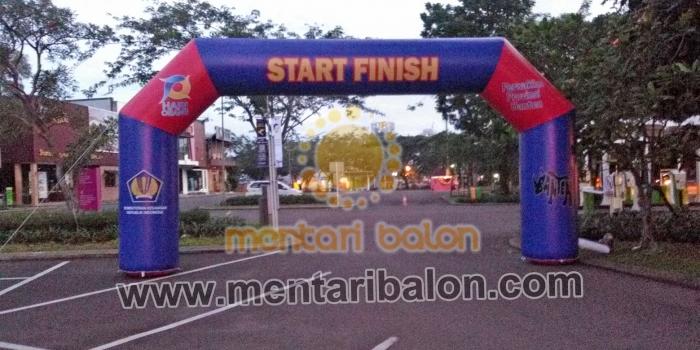 Balon Gate start finish harga murah untuk event