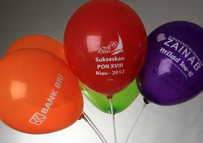Balon sablon printing ( www.mentaribalon.com) jakarta