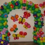 dekorasi balon sederhana