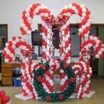 dekorasi balon natal murah