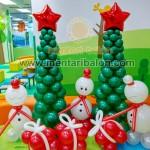 dekorasi balon natal