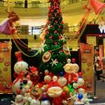 dekorasi natal dan tahun baru
