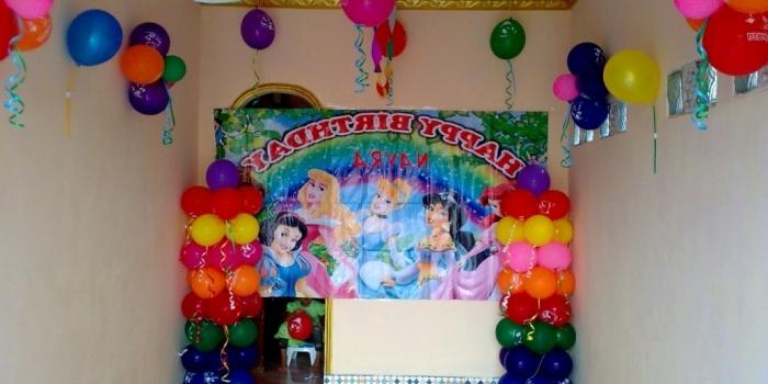 Balon dekorasi ulang tahun- meriah( www.mentaribalon.com) jakarta