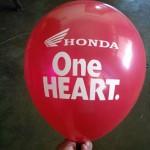 honda balon sablon