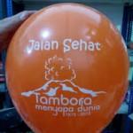 balon sablon tambora