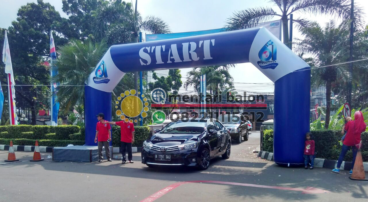 Jual Balon gate / balon start finish