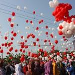 balon gas helium kemerdekaan