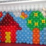 balon dekorasi dinding