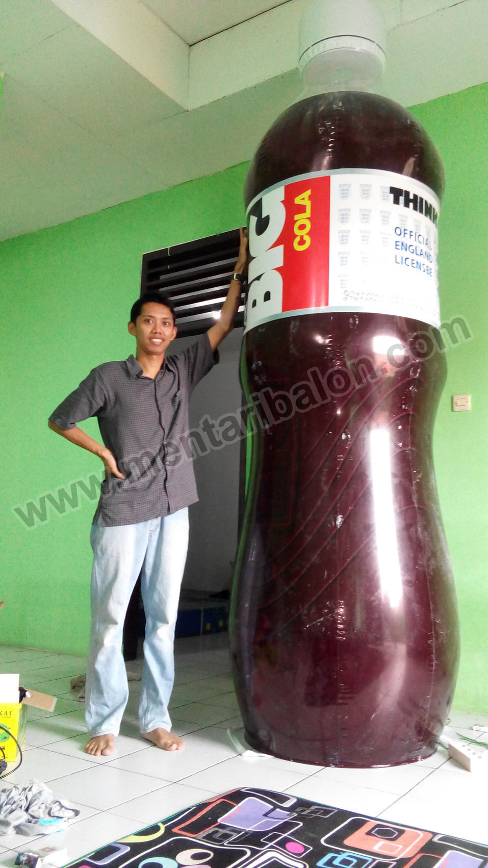 balon botol big cola