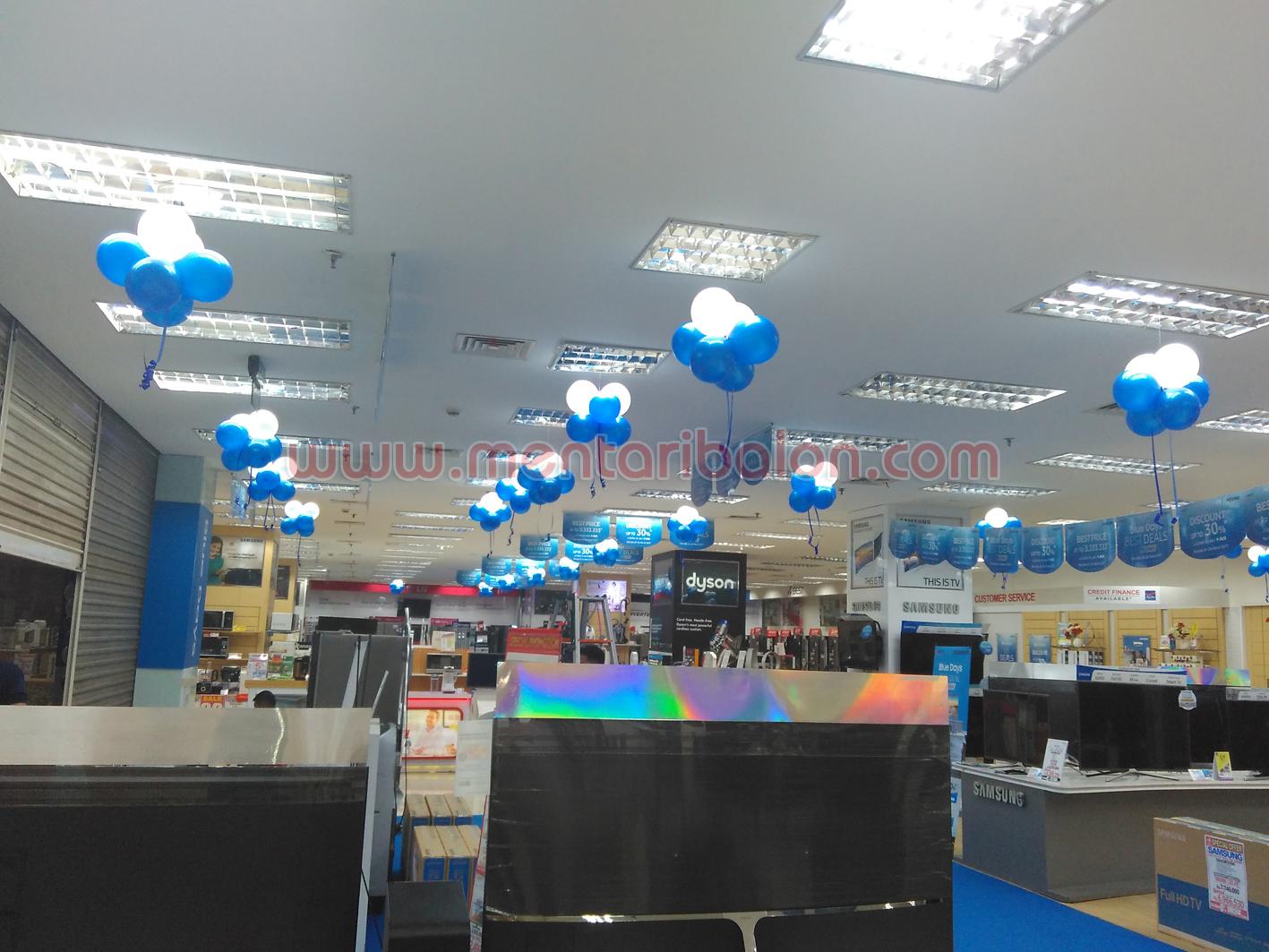 balon dekorasi mall