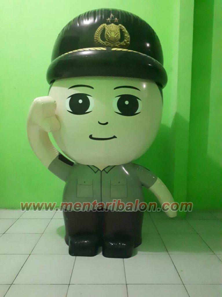 balon karakter polisi