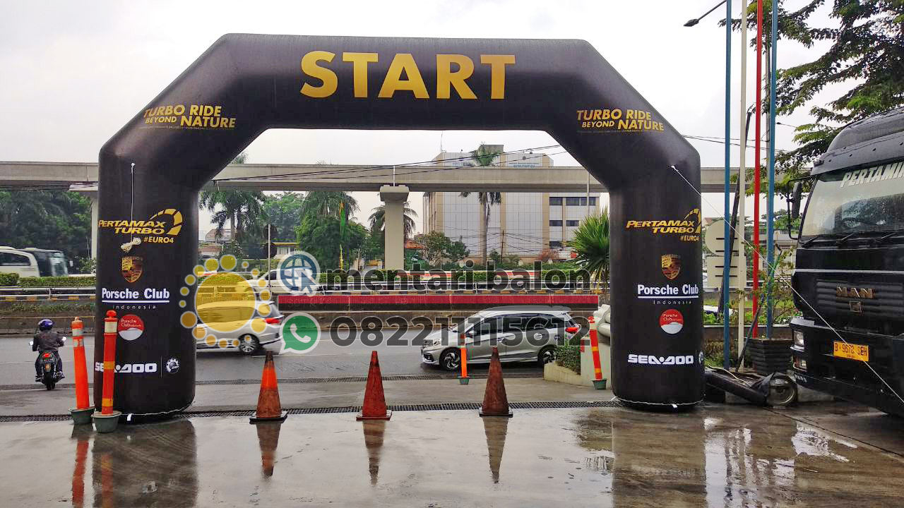 jual gate balon start finish