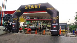 sewa balon gate start finish