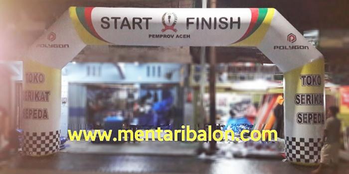 Balon gapura start finish| sewa dan jual| jakarta,surabaya,semarang,jogjakarta dan solo